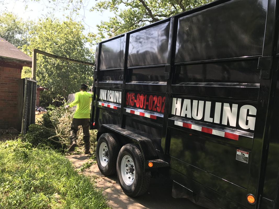 El Paso Junk REMOVAL and Hauling FREE ESTIMATES 915-408-4508